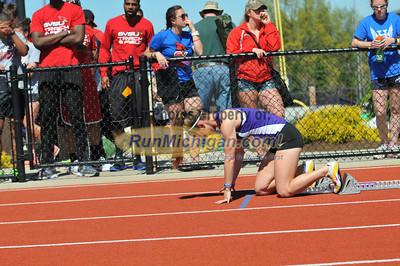 Women's 4x400 Relay Final - 2013 GLIAC Outdoor Track and Field Final