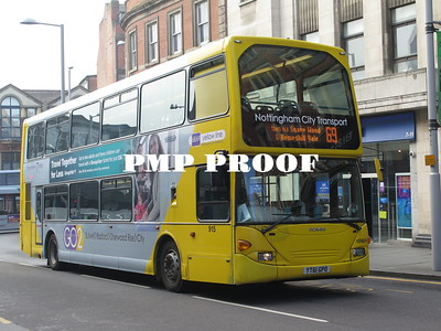 NOTTINGHAM BUSES APRIL 2019