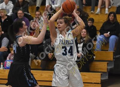 Franklin - Holy Name Girls Basketball 12-17-18
