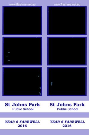 St John's Park PS Year 6 Farewell - 15 December 2016