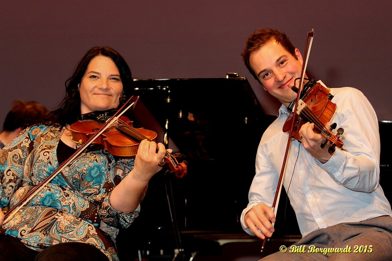 Patti Kusturok & Daniel Gervais - Calvin Vollrath - Fiddle Gala 2015 0319
