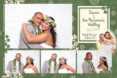Darwin and Ava's Wedding (Mini Open Air Photo Booth)