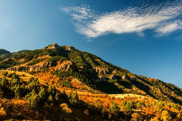 Mt Nebo Loop & Logan Canyon Fall Color