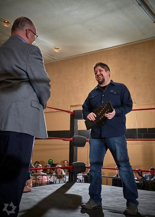 Barrie Wrestling April 2016