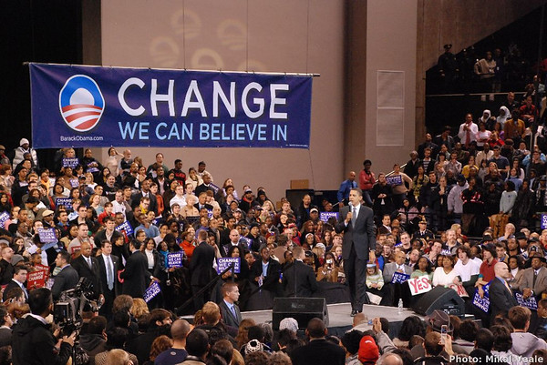 Barack Obama Rally in Baltimore