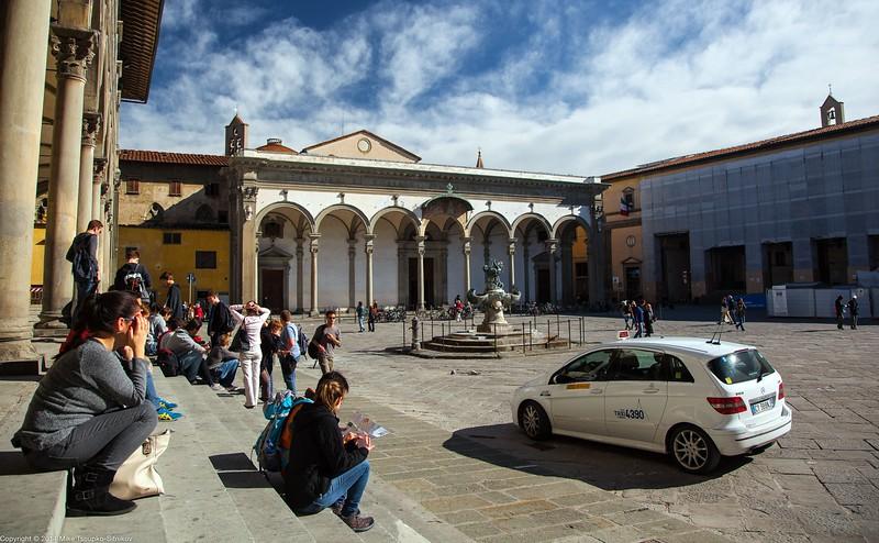 Florence - Piazza della Santissima Annunziata