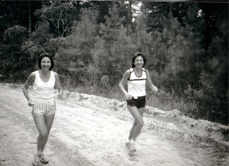 Joyce Lowery, Nancy Widener or vice versa. Looks like Prefontaine 5K