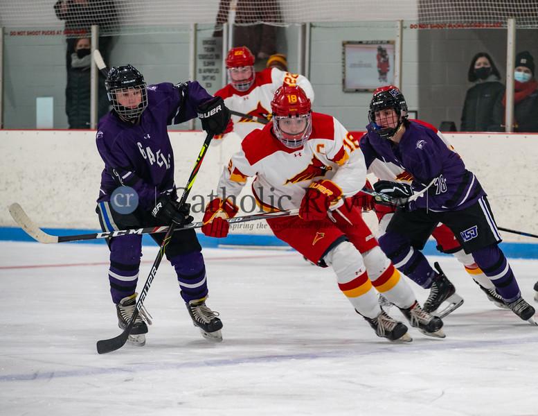 Calvert Hall vs. Mount St. Joe Hockey