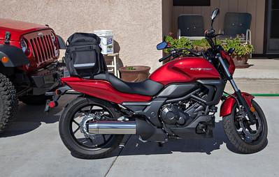 2014 Wrangler Rubicon and 2014 Honda CTX700