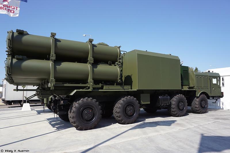 Самоходная пусковая установка БРК Бал-Э (Bal-E TEL coastal defence missile system)