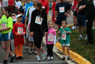 One Mile Start - 2012 Bill Roney 5K