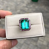 11.77ct Tourmaline Halo Ring by Leon Mege, AGL Cert 3