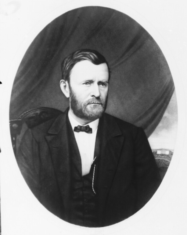 . This undated file photo shows Gen. Ulysses S. Grant. Grant hosted the first state dinner in which a foreign head of state was a guest. The Dec. 12, 1874 state dinner honored King David Kalakaua of the Sandwich Islands, now known as Hawaii. (AP Photo/File)