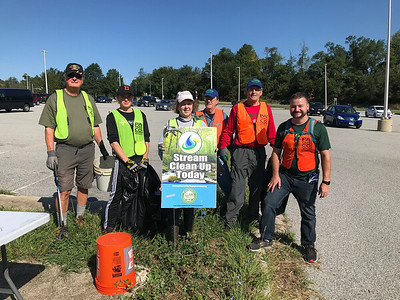 9.7.19 Herbert Run Branch Cleanup at Southwest Park and Ride