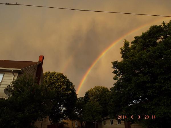 T-storm dies over Hazleton 6-3-14