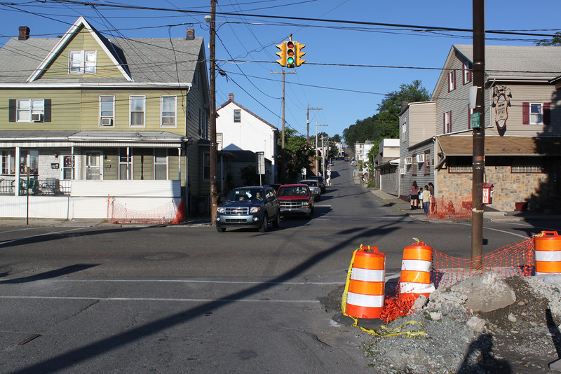 Spruce Street to be Closed, Tamaqua, 8-29-2011 (1).JPG