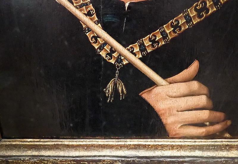 Rogier van der Weyden: Der Großbastard Anton von Burgund (Brüssel, Museum der Schönen Künste)