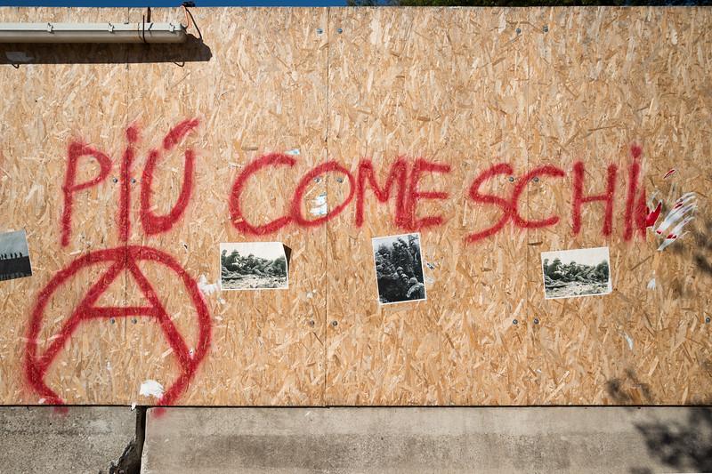 Graffiti - Reggio Emilia, Italy - October 24, 2014
