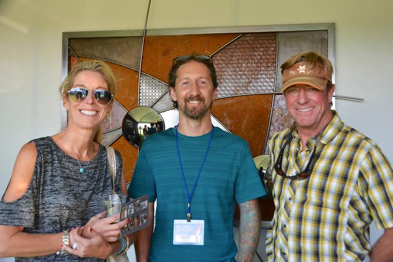 Heather Tucker, Thomas Ramey and Scott Tucker