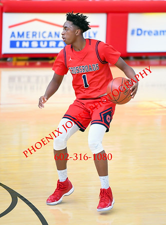 12-9-17 - Crossroads @ Red Mountain (Hoophall West)  Basketball Game