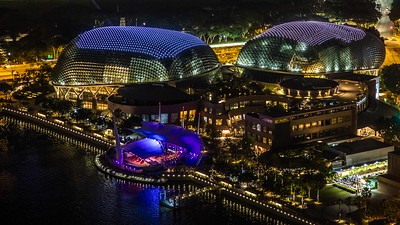 Marina Bay, Singapore, 2017
