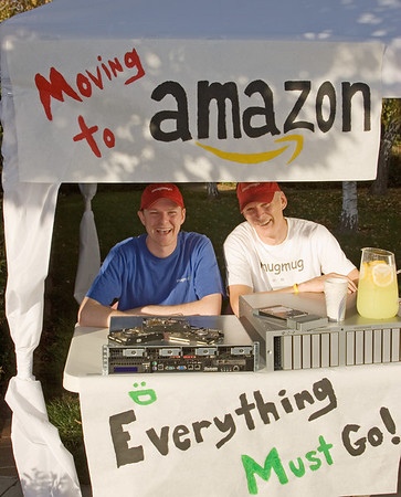 Moving to Amazon
