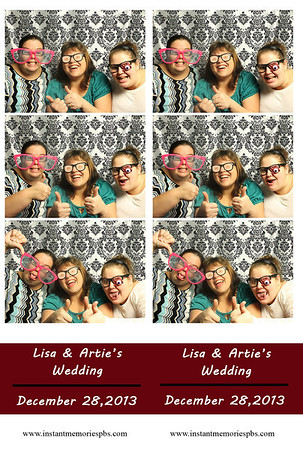 Lisa and Artie's Wedding 12-28-2013