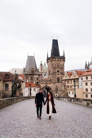 Steff + Dan   Couple session in Prague