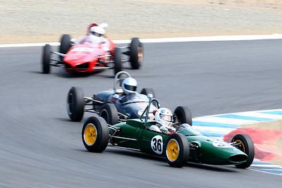 2008 Monterey Historics - Formula Jr. - all 3 groups - on track