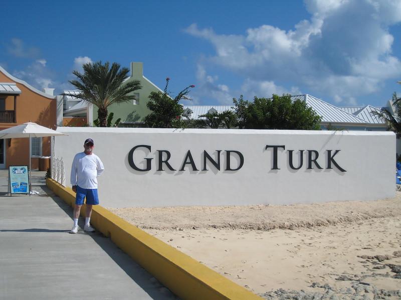David at Grand Turk