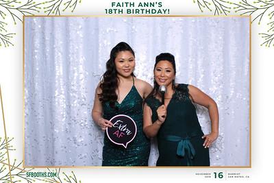 Faith Ann's 18th Birthday - November 16, 2019