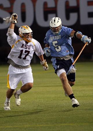 ASU Lacrosse vs USD 4-8-11