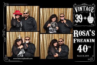 Rosa's Freakin' 40th