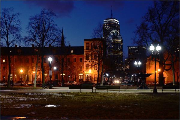Boston by Night