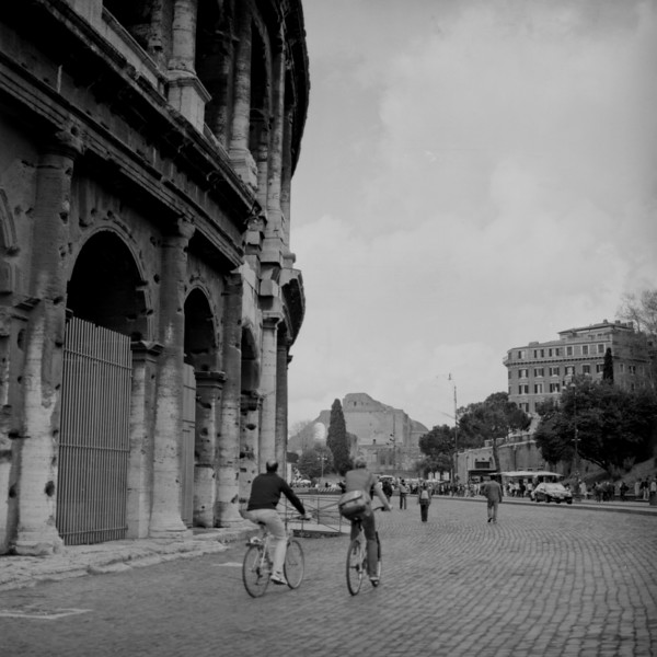 Colosseum in Rome 8:Italy beyond 70mm. Photographs taken on 80mm (Medium format film)