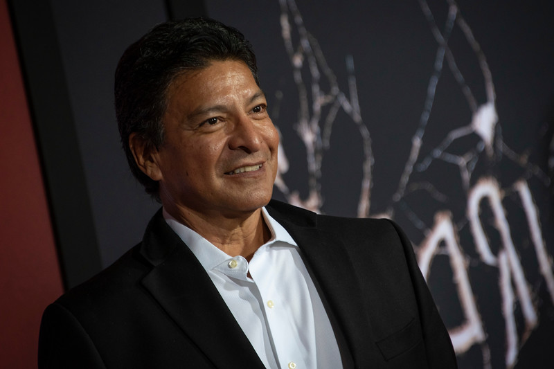 """LOS ANGELES, CALIFORNIA - OCTOBER 29: Gil Birmingham attends the premiere of Warner Bros Pictures' """"Doctor Sleep"""" at Westwood Regency Theater on Tuesday October 29, 2019 in Los Angeles, California. (Photo by Tom Sorensen/Moovieboy Pictures,)"""