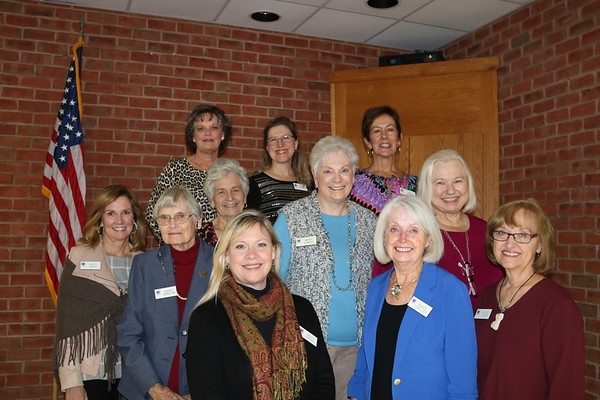 Mrs. Coggins with Trustee Wives