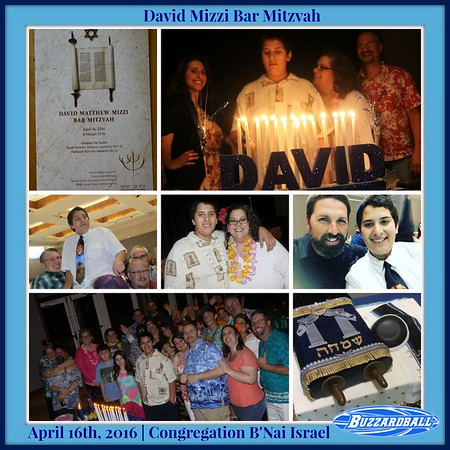 APRIL 16TH, 2016 | David Mizzi Bar Mitzvah