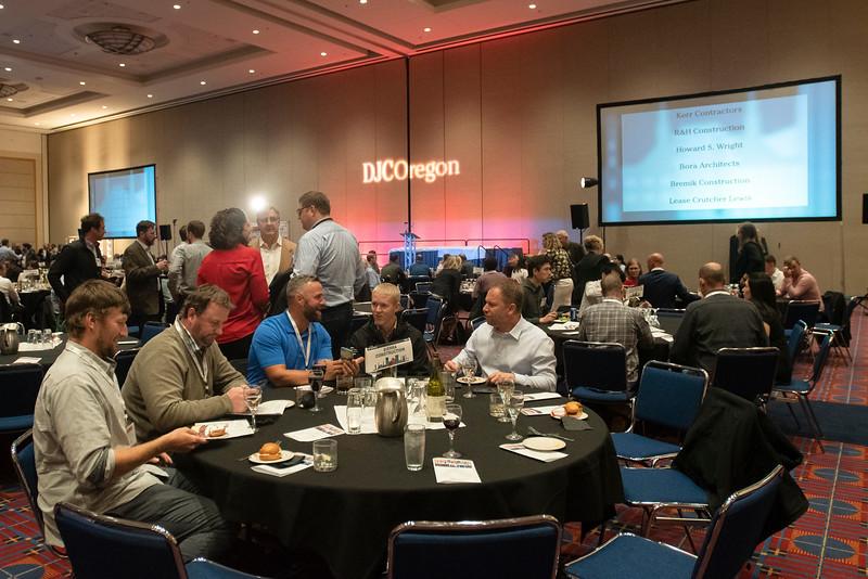 The Sierra Construction table, Top Projects 2019. (Josh Kulla/DJC)