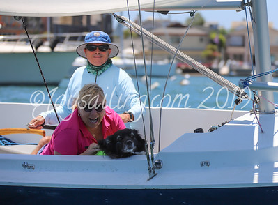 Flight Newport Beach - Lasers and Harbor 20's Regatta