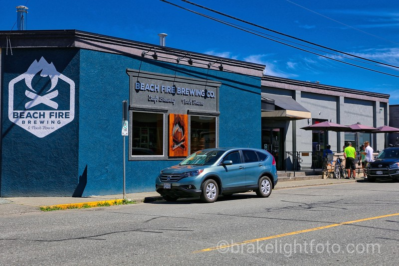 Beachfire Brewing in Campbell River