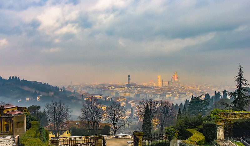 Firenze Skyline from San Miniato al Monte