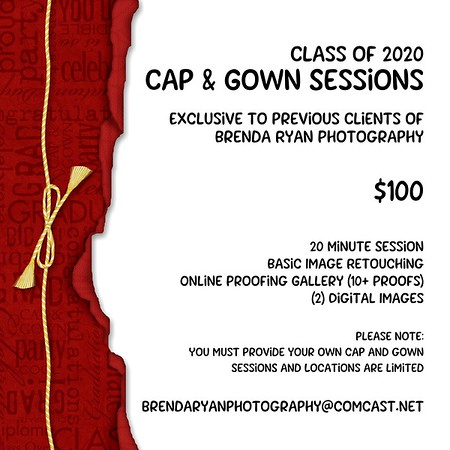 2020/05/22 Cap and Gown Sessions