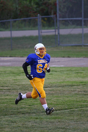 Kimball Cubs Football 2012