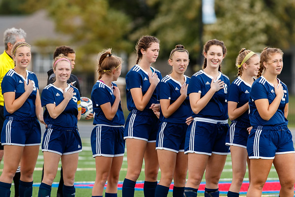 CC Girls Varsity Soccer vs Wheeler  2018-10-20 Semi-State