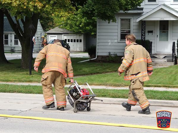 House fire on September 29, 2015