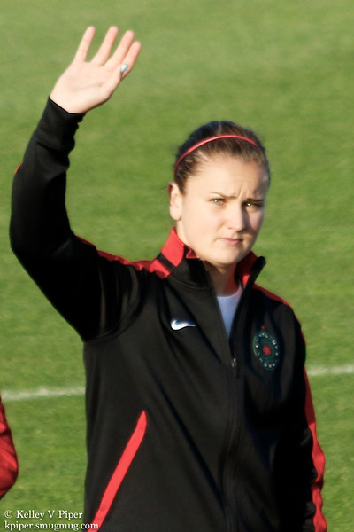 Lindsey Horan - Player Introductions (07 May 2016)