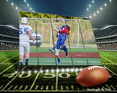 Fall Sports Collages 2016-2017
