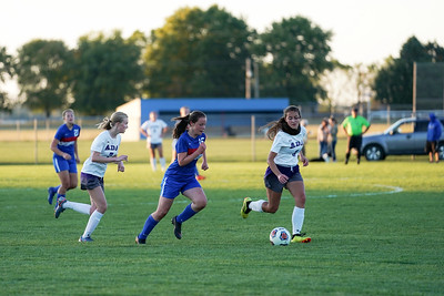 LB Girls' Soccer Playing Keep Away from Ada (2019-10-09)