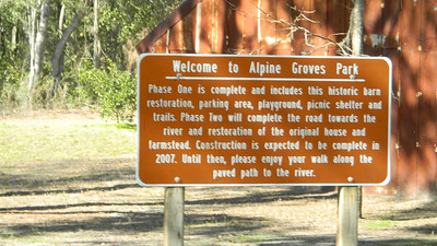 Quincey & Rocky II Alpine Grove Park